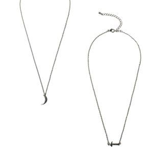 To the Moon & Back Frienship Necklaces